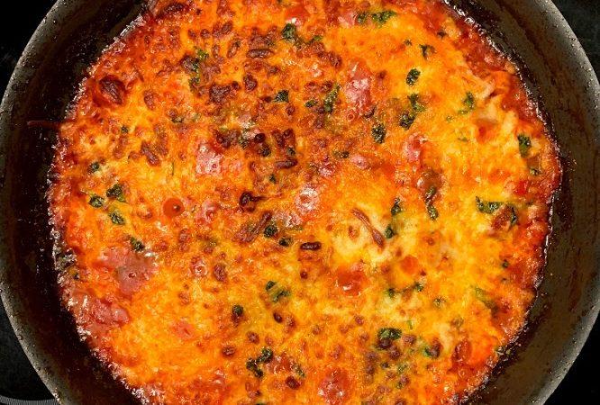 Frango com Linguiça Picante (Chorizo)