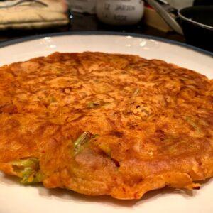 Panqueca de Kimchi